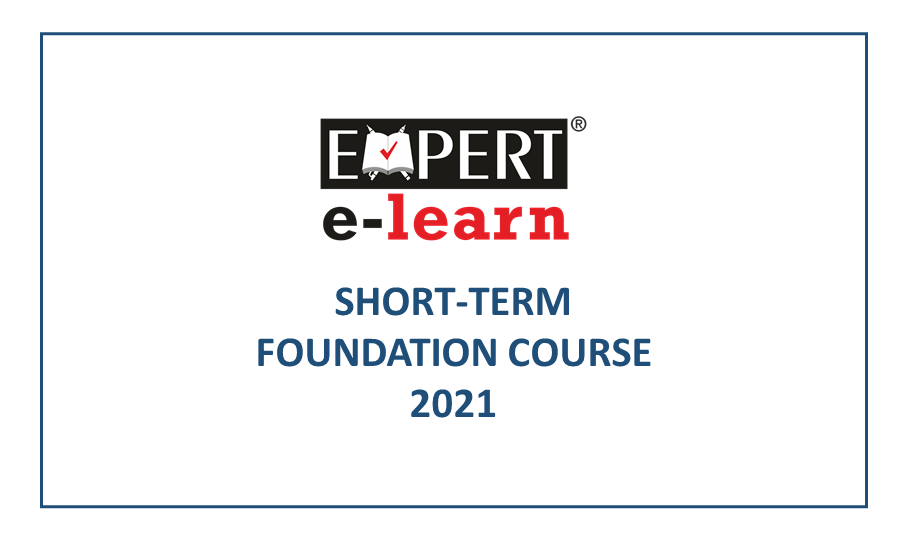 Short Term Foundation Course for Class XI FC2021